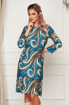 StarShinerS dress midi daily straight lycra without clothing