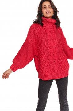 Top Secret S051243 Pink Sweater