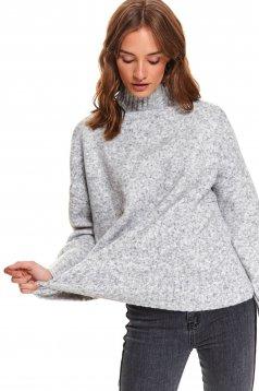 Top Secret S051244 LightGrey Sweater