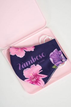 Cutie pentru depozitare masca StarShinerS roz