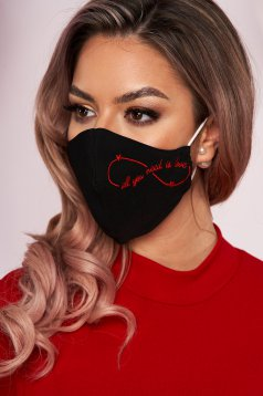 Face masks StarShinerS red
