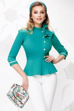 Turquoise women`s shirt