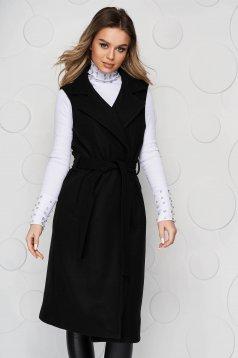 Vesta SunShine neagra accesorizata cu cordon detasabil