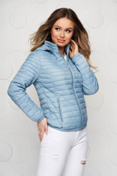 Lightblue jacket tented sporty from slicker