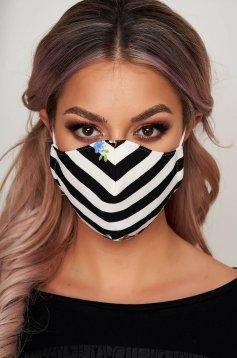Masca textila pentru femei StarShinerS cu dungi