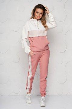 Pink sport 2 pieces 2 pieces cotton
