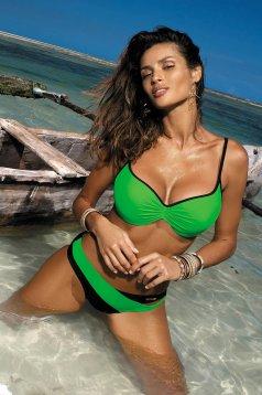 Green swimsuit normal bikinis