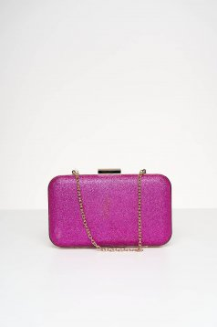 Fuchsia bag occasional with glitter details