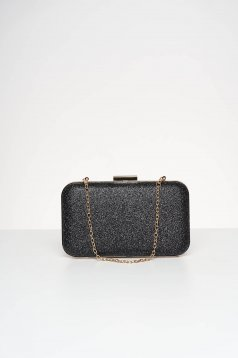 Black bag occasional with glitter details