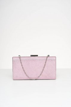 Lightpink bag occasional with glitter details